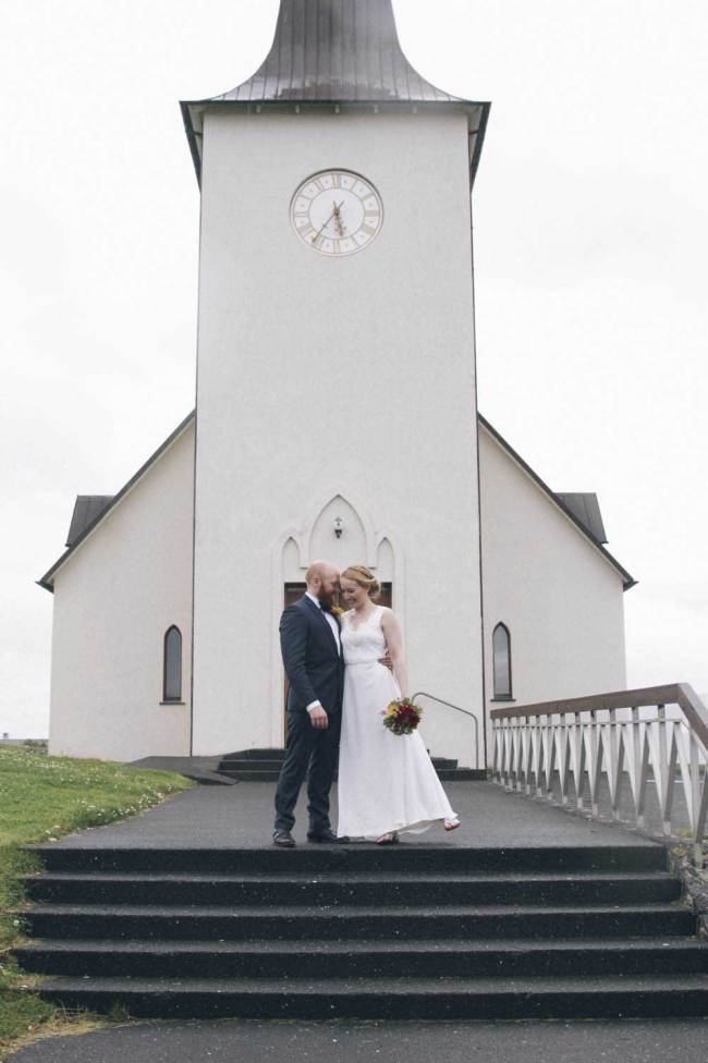 Married in church in Iceland