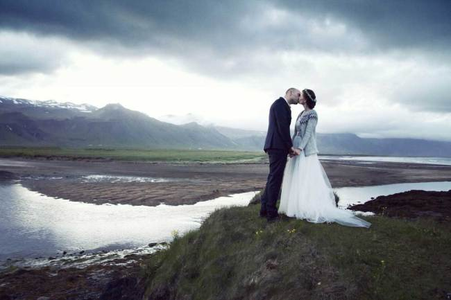 Married in beautiful nature in Iceland