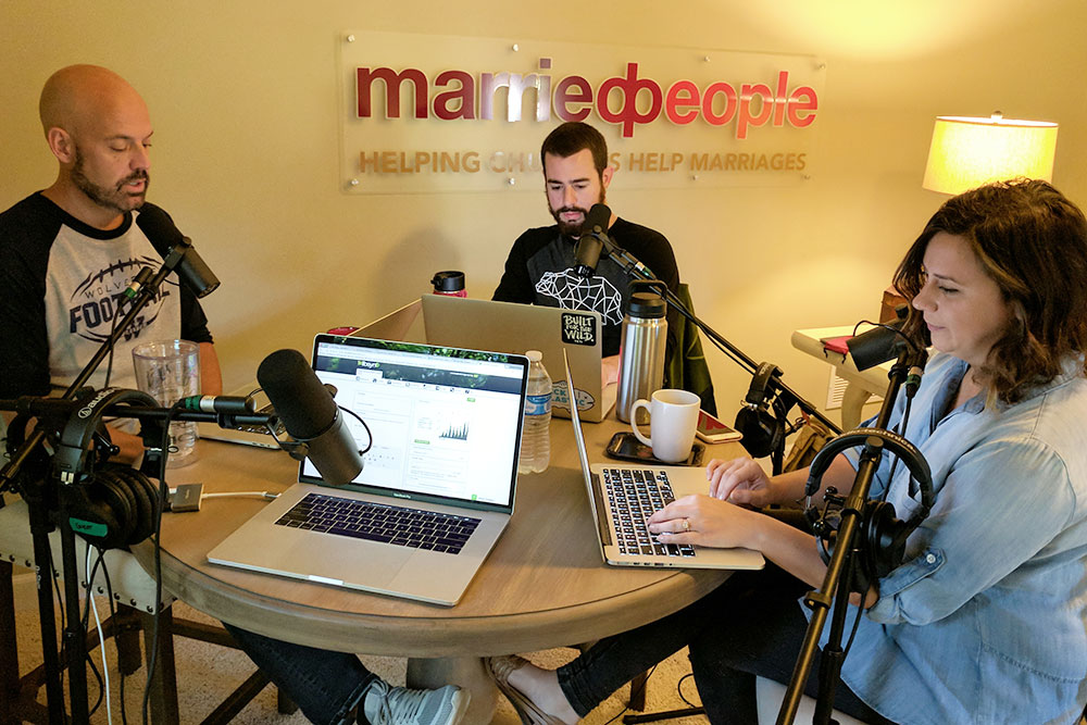 Behind the Scenes of the MarriedPeople Podcast