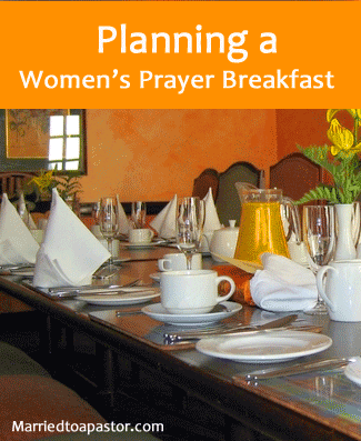 planning a women's prayer breakfast