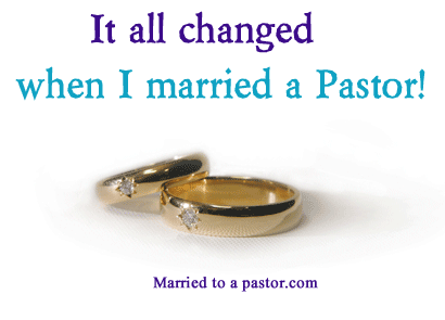 Marrying a pastor