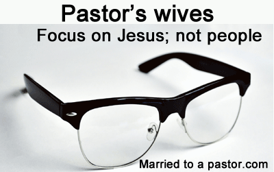 living for Jesus senior pastors wife