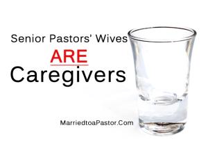 Caregiver burnout and senior pastors wives