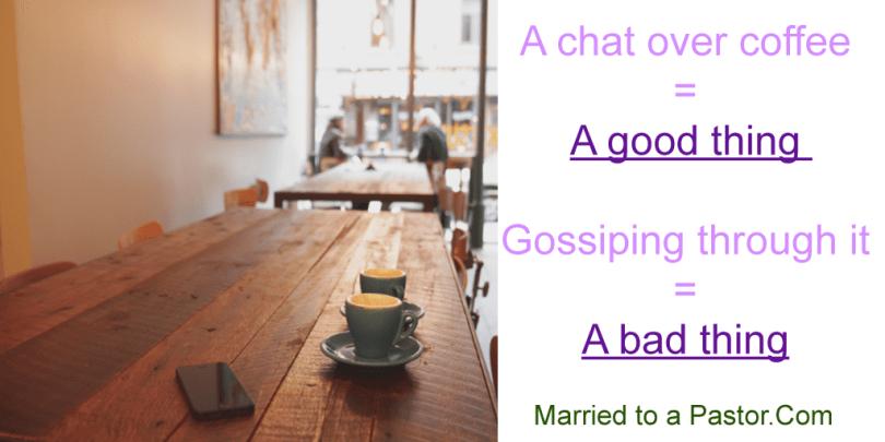 pastors wives dealing with gossips