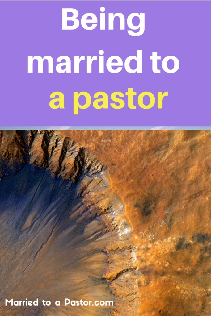 Being married to a pastor in the fish bowl of church