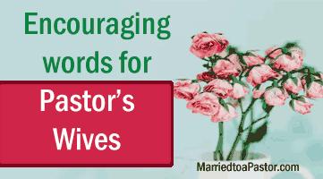 encouraging words for pastors w