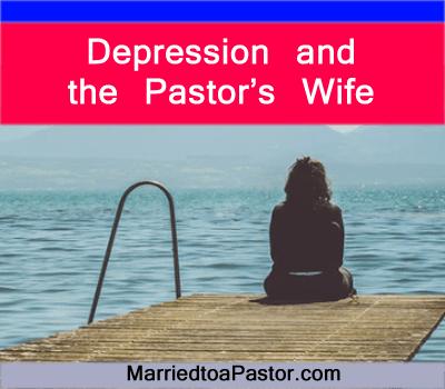 pastors wife depression