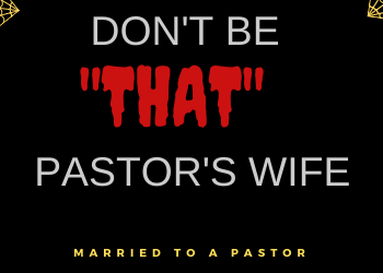 insecure pastor's wife