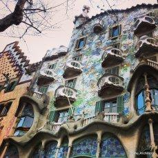 Casa Batllo' by Gaudi