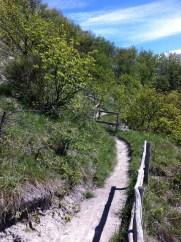 partisan trail from Cerredolo dei Coppi