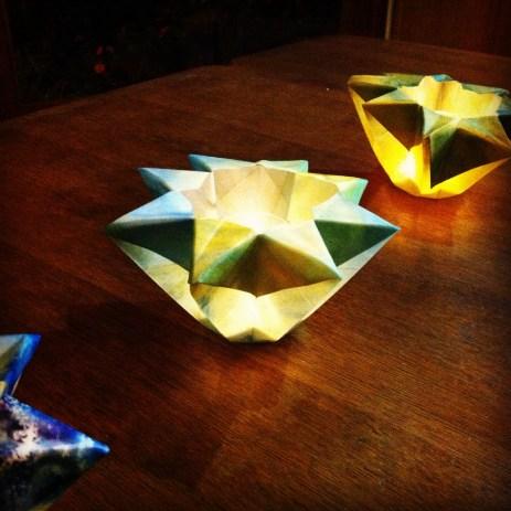 DIY New Year's lanterns
