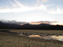 Awaroa Estuary at sunset...5pm.