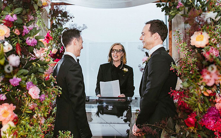 Jim Parsons Is Now Officially A Husband Of Todd Spiewak