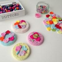 Crocheted Jar Lid Covers