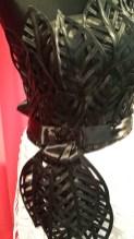 Brautkleid aus Blätter