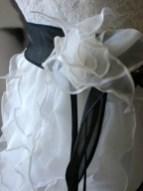 Brautkleid aus Organza