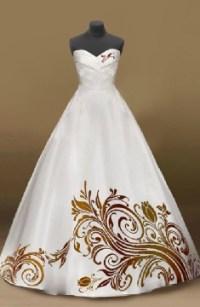 Ein Modell in einem schicken Kleid