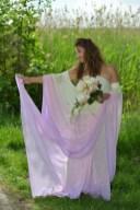 Brautkleid Maßanfertigung Batik