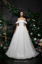 Schultefreies Brautkleid
