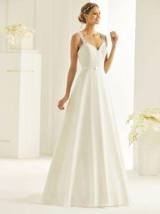 Brautkleid mit Träger