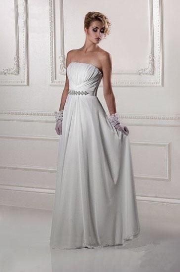 Hochzeitskleid trägerlos