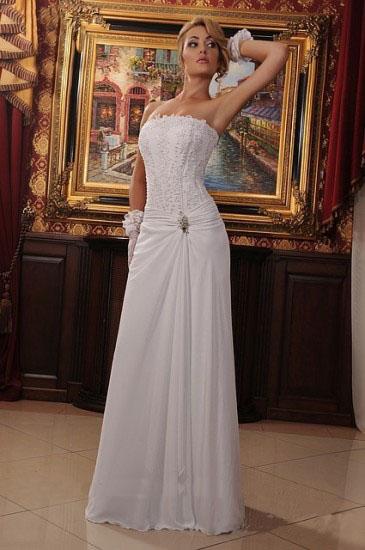 Hochzeitskleid aus Chiffon
