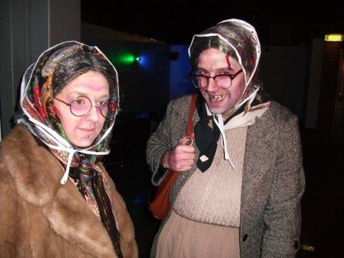 Me and Matt be as grannys