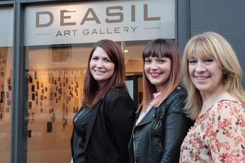 Kate Livingston (Deasil Art), Beccy Rimmer (Inkluded), Kate Bramwell (Deasil Art)