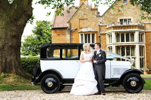 WEB - Highgate House Wedding - External Car