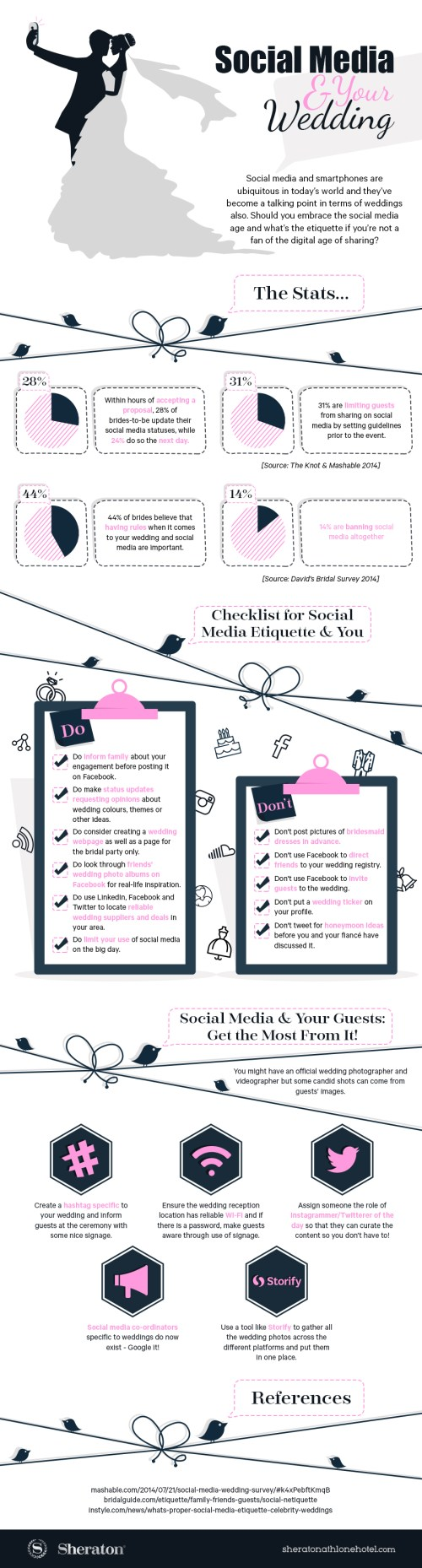Social-Media-Etiquette-and-Weddings-infographic