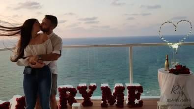 הצעת נישואין נתניה מלון איילנד(31.10.19)00096