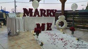 השכרת ציוד להצעת נישואין