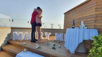 הצעת נישואין בתל אביב במלון מרכז נריה & תמר(19.7.20)00157