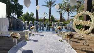הצעת נישואין במלון סטאי כנרת Setai, הצעת נישואין במלון סטאי כנרת Setai