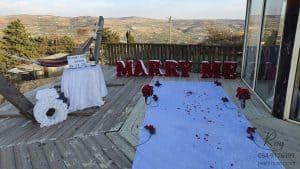 הצעת נישואין בהר החרמון