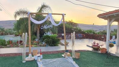 הצעת נישואין חופה במבוק בהוזרעים לד טבריה בצפון דניאל & מיכל(17.11.20)00005