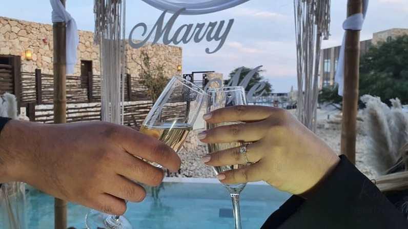 הצעת נישואין במלון בראשית מצפה רמון בדרום(20.9.20)00478