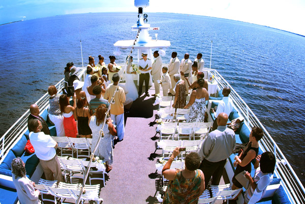 Ivory Yellow Amp Tan Nautical Destination Wedding Yacht