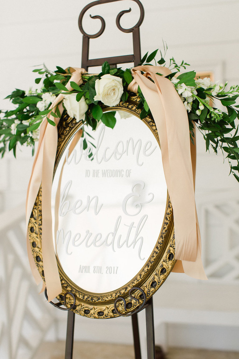 Green Amp Gold Old Florida Inspired Clearwater Beach Wedding
