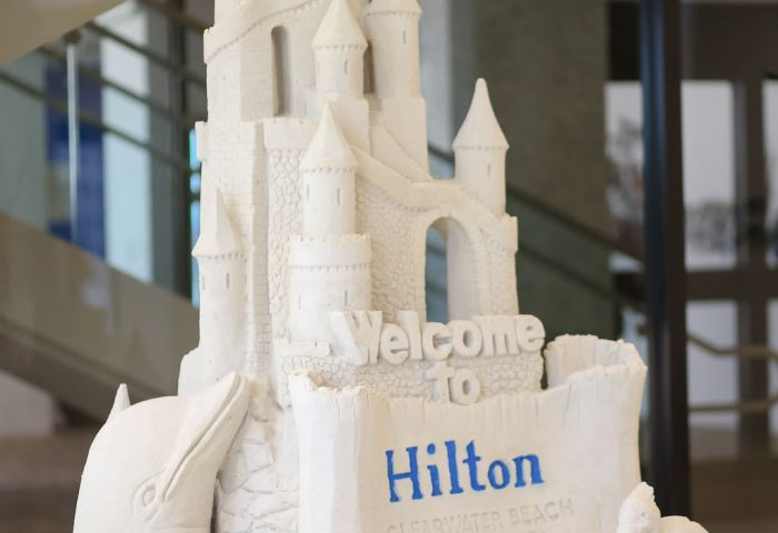 Sand Castle At Clearwater Beach Hotel Wedding Venue Hilton