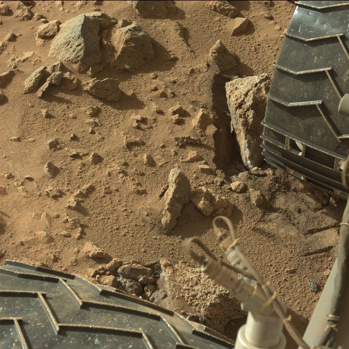 Curiosity Rover update: Stalking the stony plains of Mars ...