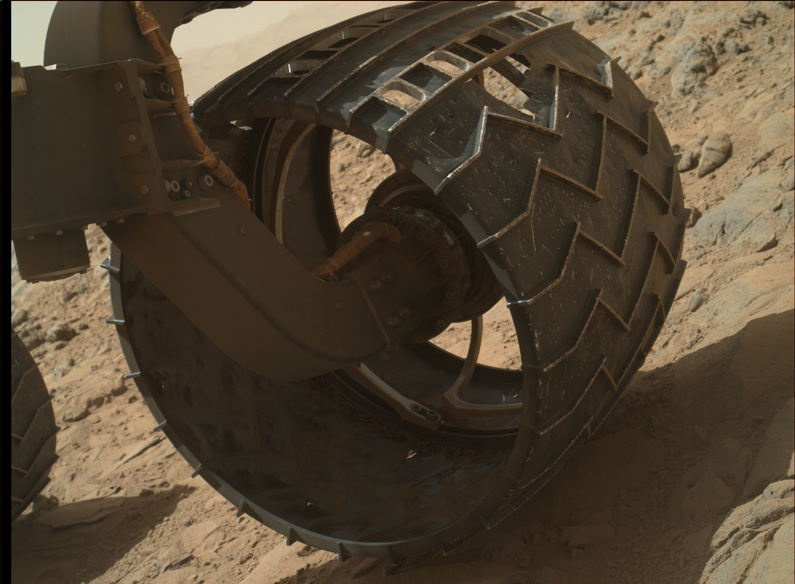 Why are the wheels of NASA s Mars rover Curiosity wearing out