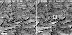 Before-and-After Views Confirm Fresh Craters
