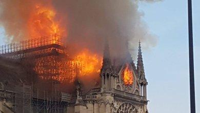 Photo of إخماد الحريق في كاتدرائية نوتردام بشكل كامل… وتم انقاذ حوالي 80 % من الكاتدرائية بما في ذلك جميع المواد التاريخية