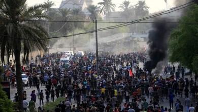 Photo of احتجاجات العراق.. 9 قتلى وحظر تجول وهتافات ضد إيران