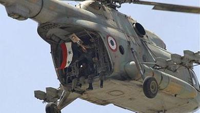 Photo of إسقاط مروحية للنظام السوري في ريف حلب الغربي ومقتل طاقمها