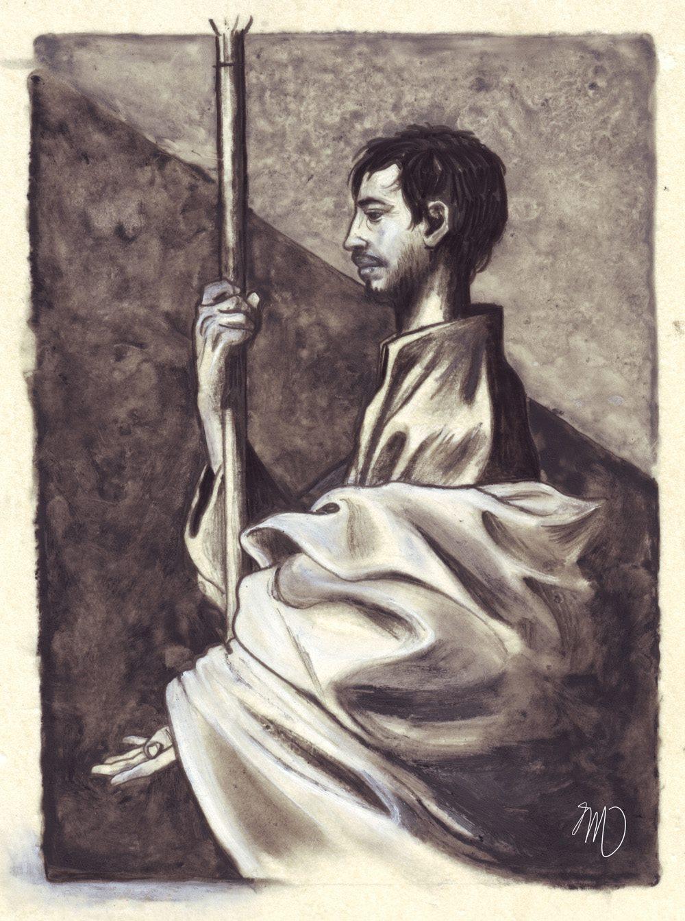 Saint Thomas, d'après Ribera