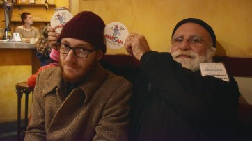 Elric Dufau & Golo, avec des sous-bocks Marsam.