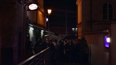 Vernissage de l'exposition Lucas Méthé au bar des Arceaux