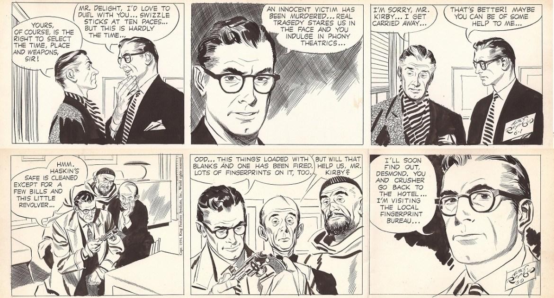 Alex Raymond. 2 Rip Kirby. 1954